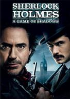 Sherlock Holmes: A Game of Shadows - DVD movie cover (xs thumbnail)