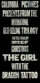 The Girl with the Dragon Tattoo - British Movie Poster (xs thumbnail)