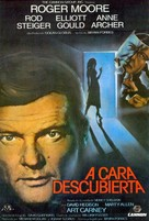 The Naked Face - Spanish Movie Poster (xs thumbnail)