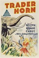 Trader Horn - Australian Movie Poster (xs thumbnail)