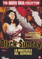 La maschera del demonio - Belgian DVD cover (xs thumbnail)