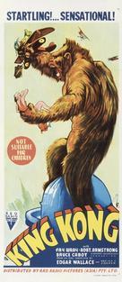 King Kong - Australian Movie Poster (xs thumbnail)