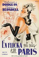 Good Girls Go to Paris - Swedish Movie Poster (xs thumbnail)
