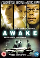 Awake - British DVD movie cover (xs thumbnail)