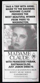 Madame Claude - Australian Movie Poster (xs thumbnail)