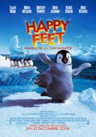 Happy Feet - Romanian Movie Poster (xs thumbnail)