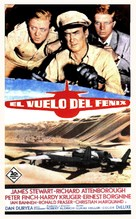 The Flight of the Phoenix - Spanish Movie Poster (xs thumbnail)