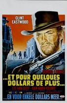 Per qualche dollaro in più - Belgian Movie Poster (xs thumbnail)