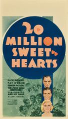 Twenty Million Sweethearts - Movie Poster (xs thumbnail)