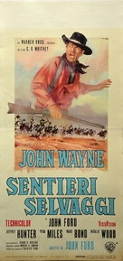 The Searchers - Italian Movie Poster (xs thumbnail)