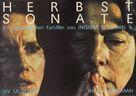 Höstsonaten - German Movie Poster (xs thumbnail)