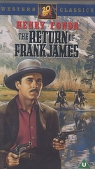 The Return of Frank James - British VHS cover (xs thumbnail)