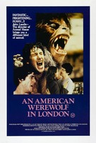An American Werewolf in London - Australian Theatrical poster (xs thumbnail)