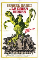 La diosa virgen - Argentinian Movie Poster (xs thumbnail)