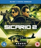 Sicario: Day of the Soldado - British Blu-Ray movie cover (xs thumbnail)