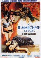 Il boia scarlatto - Italian Movie Poster (xs thumbnail)