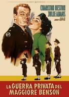 The Private War of Major Benson - Italian DVD movie cover (xs thumbnail)