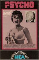 Psycho - VHS cover (xs thumbnail)