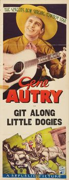 Git Along Little Dogies - Movie Poster (xs thumbnail)