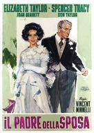 Father of the Bride - Italian Movie Poster (xs thumbnail)