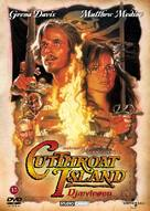 Cutthroat Island - Danish Movie Cover (xs thumbnail)