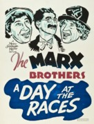 A Day at the Races - South African Movie Poster (xs thumbnail)