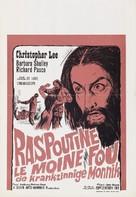 Rasputin: The Mad Monk - Belgian Movie Poster (xs thumbnail)