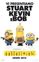 Minions - Italian Movie Poster (xs thumbnail)
