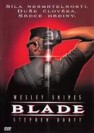 Blade - Czech DVD movie cover (xs thumbnail)