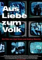 Aus Liebe zum Volk - German poster (xs thumbnail)