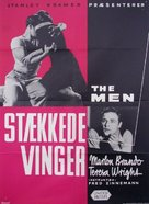 The Men - Danish Movie Poster (xs thumbnail)
