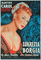 Lucrèce Borgia - German Movie Poster (xs thumbnail)