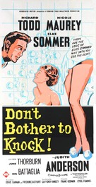 Don't Bother to Knock - British Movie Poster (xs thumbnail)