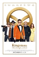 Kingsman: The Golden Circle - Lebanese Movie Poster (xs thumbnail)