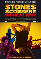 Shine a Light - Italian Movie Poster (xs thumbnail)