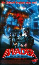 Invader - German Movie Poster (xs thumbnail)