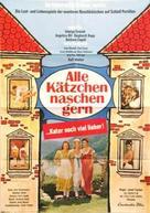 Alle Kätzchen naschen gern - German Movie Poster (xs thumbnail)