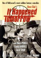 It Happened Tomorrow - DVD cover (xs thumbnail)