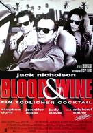 Blood and Wine - German Movie Poster (xs thumbnail)