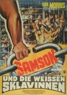 Sansone contro i pirati - German Movie Poster (xs thumbnail)