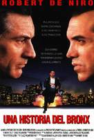 A Bronx Tale - Spanish Movie Poster (xs thumbnail)
