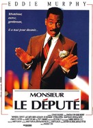 The Distinguished Gentleman - French Movie Poster (xs thumbnail)