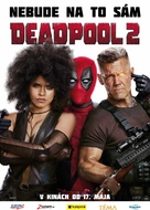 Deadpool 2 - Slovak Movie Poster (xs thumbnail)