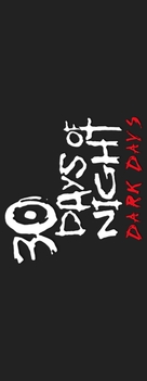 30 Days of Night: Dark Days - Logo (xs thumbnail)