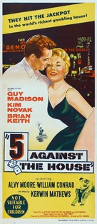 5 Against the House - Australian Theatrical movie poster (xs thumbnail)