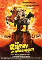 The Frisco Kid - German Movie Poster (xs thumbnail)