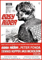 Easy Rider - Spanish Movie Poster (xs thumbnail)