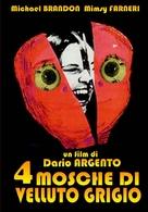 4 mosche di velluto grigio - Italian Movie Cover (xs thumbnail)