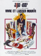 Live And Let Die - French Movie Poster (xs thumbnail)