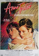 Anne Trister - German Movie Poster (xs thumbnail)